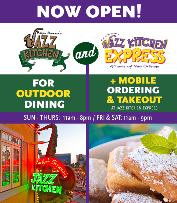 Now Open for Outdoor Dining plus Mobile Ordering and Takeout at JK Express.  Click for details.