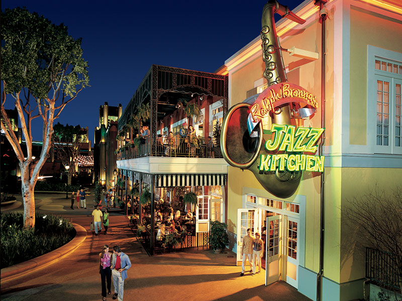 Downtown Disney District Restaurant Traditional New