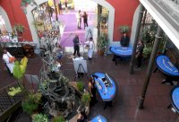 Casino Event in the Courtyard