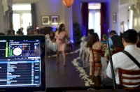 View from the DJ Booth in the Parlor Room